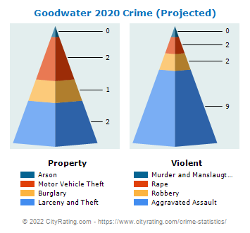 Goodwater Crime 2020