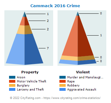 Cammack Village Crime 2016