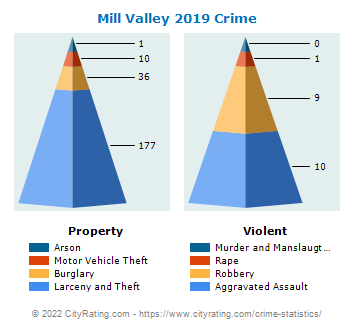 Mill Valley Crime 2019