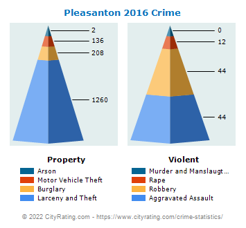 Pleasanton Crime 2016
