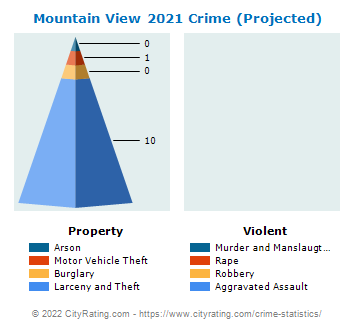 Mountain View Crime 2021