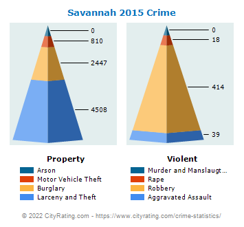 Savannah Crime 2015