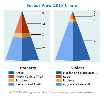 Forest View Crime 2017