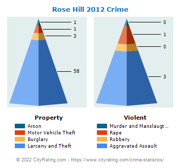Rose Hill Crime 2012