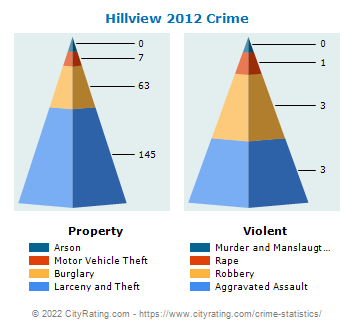 Hillview Crime 2012