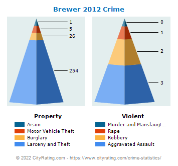 Brewer Crime 2012