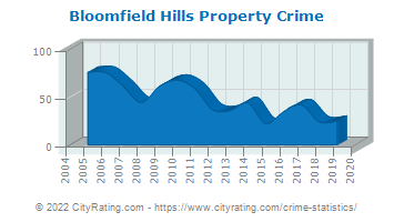 Bloomfield Hills Property Crime