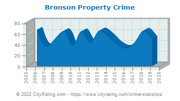 Bronson Property Crime
