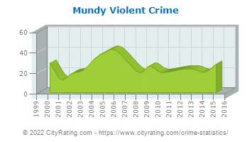 Mundy Township Violent Crime