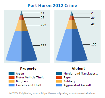 Port Huron Crime 2012