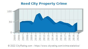 Reed City Property Crime