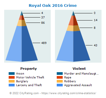 Royal Oak Crime 2016
