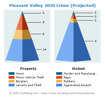Pleasant Valley Crime 2020