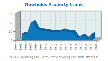 Newfields Property Crime