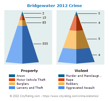 Bridgewater Township Crime 2012