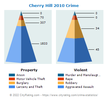 Cherry Hill Township Crime 2010