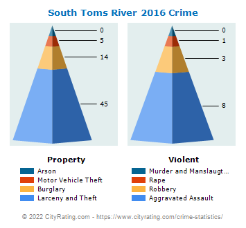 South Toms River Crime 2016