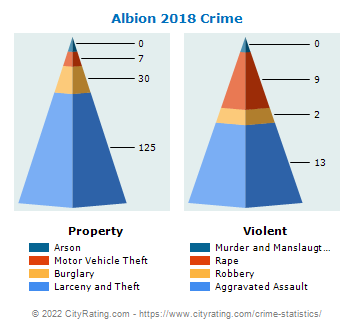 Albion Village Crime 2018