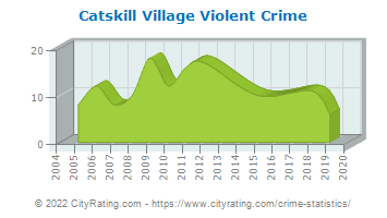 Catskill Village Violent Crime