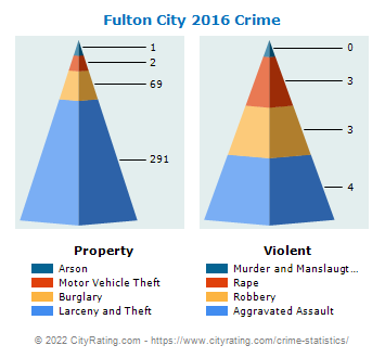 Fulton City Crime 2016