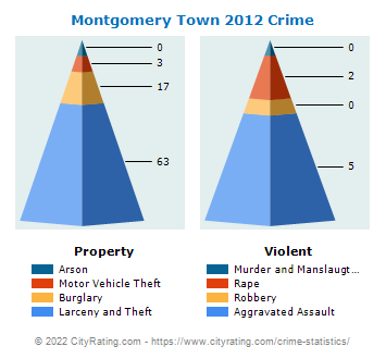 Montgomery Town Crime 2012