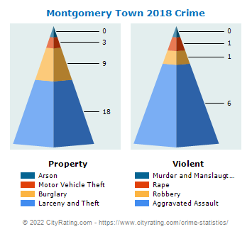 Montgomery Town Crime 2018