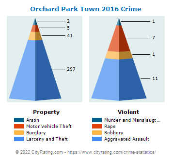 Orchard Park Town Crime 2016