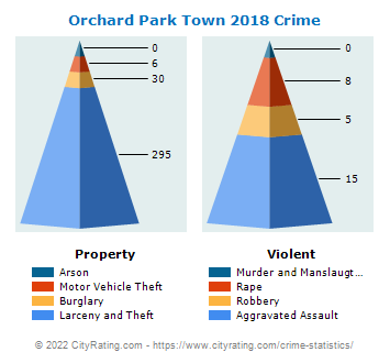Orchard Park Town Crime 2018