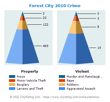 Forest City Crime 2010