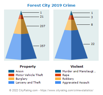 Forest City Crime 2019