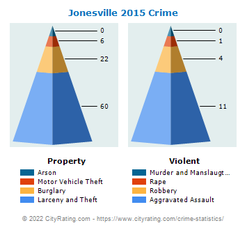 Jonesville Crime 2015