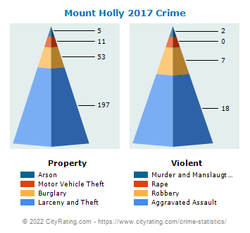 Mount Holly Crime 2017
