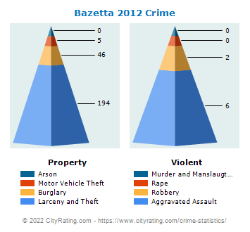 Bazetta Township Crime 2012