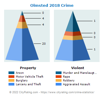 Olmsted Township Crime 2018