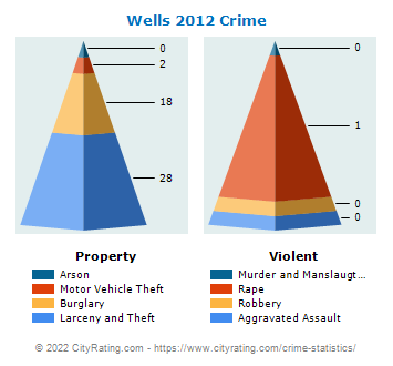 Wells Township Crime 2012