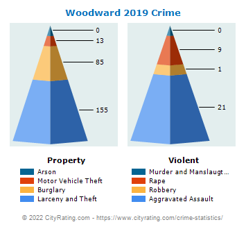 Woodward Crime 2019