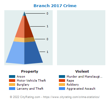 Branch Township Crime 2017