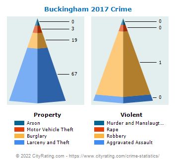 Buckingham Township Crime 2017