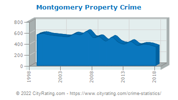 Montgomery Township Property Crime