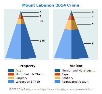 Mount Lebanon Crime 2014