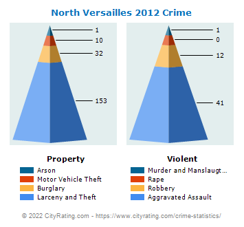 North Versailles Township Crime 2012