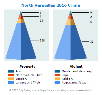 North Versailles Township Crime 2016