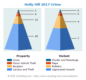 Holly Hill Crime 2017