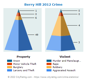 Berry Hill Crime 2012