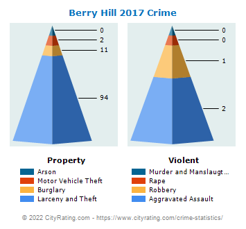 Berry Hill Crime 2017