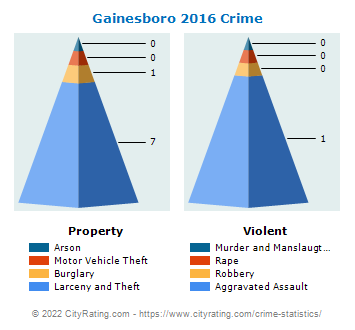 Gainesboro Crime 2016