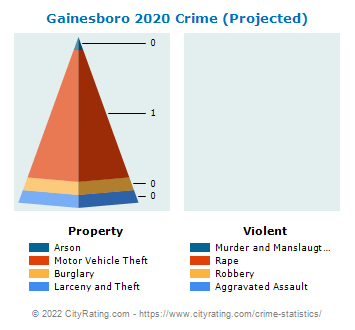 Gainesboro Crime 2020