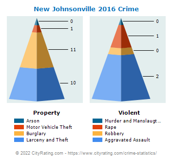 New Johnsonville Crime 2016