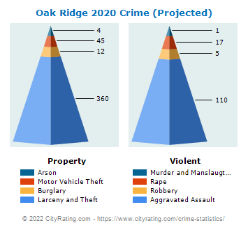 Oak Ridge Crime 2020