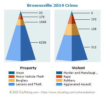 Brownsville Crime 2014